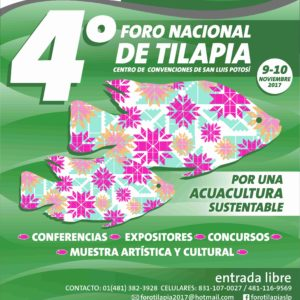SLP Será Sede Del Cuarto Foro Nacional De Tilapia En México