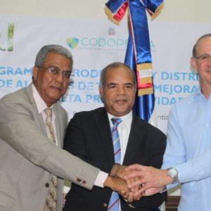 Instituciones Firman Acuerdo Para Ejecutar Producción Alevines De Tilapias En Santo Domingo
