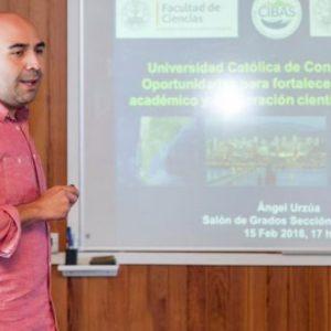 El Investigador Chileno Ángel Urzúa Realizó Varias Actividades Científicas Y Divulgativas En Su Estancia En La ULL