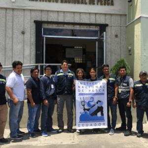 Instituto Nacional De Pesca Realiza Crucero De Investigación Para Conocer La Biomasa De Los Peces Pelágicos Pequeños En Aguas Ecuatorianas
