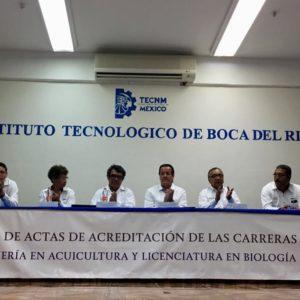 Instituto Tecnológico De Boca Del Río Acredita Dos Carreras Afines Al Mar En México