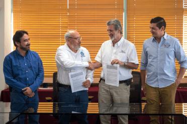 Comité Estatal De Sanidad Acuícola Y El CICESE Firman Convenio General De Colaboración