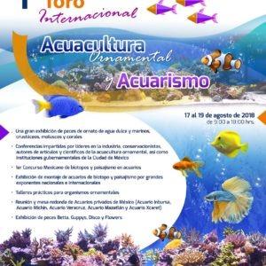 Centro De Exposiciones Y Congresos De La UNAM Será Sede De Evento Internacionalde Acuacultura Ornamental Y Acuarismo