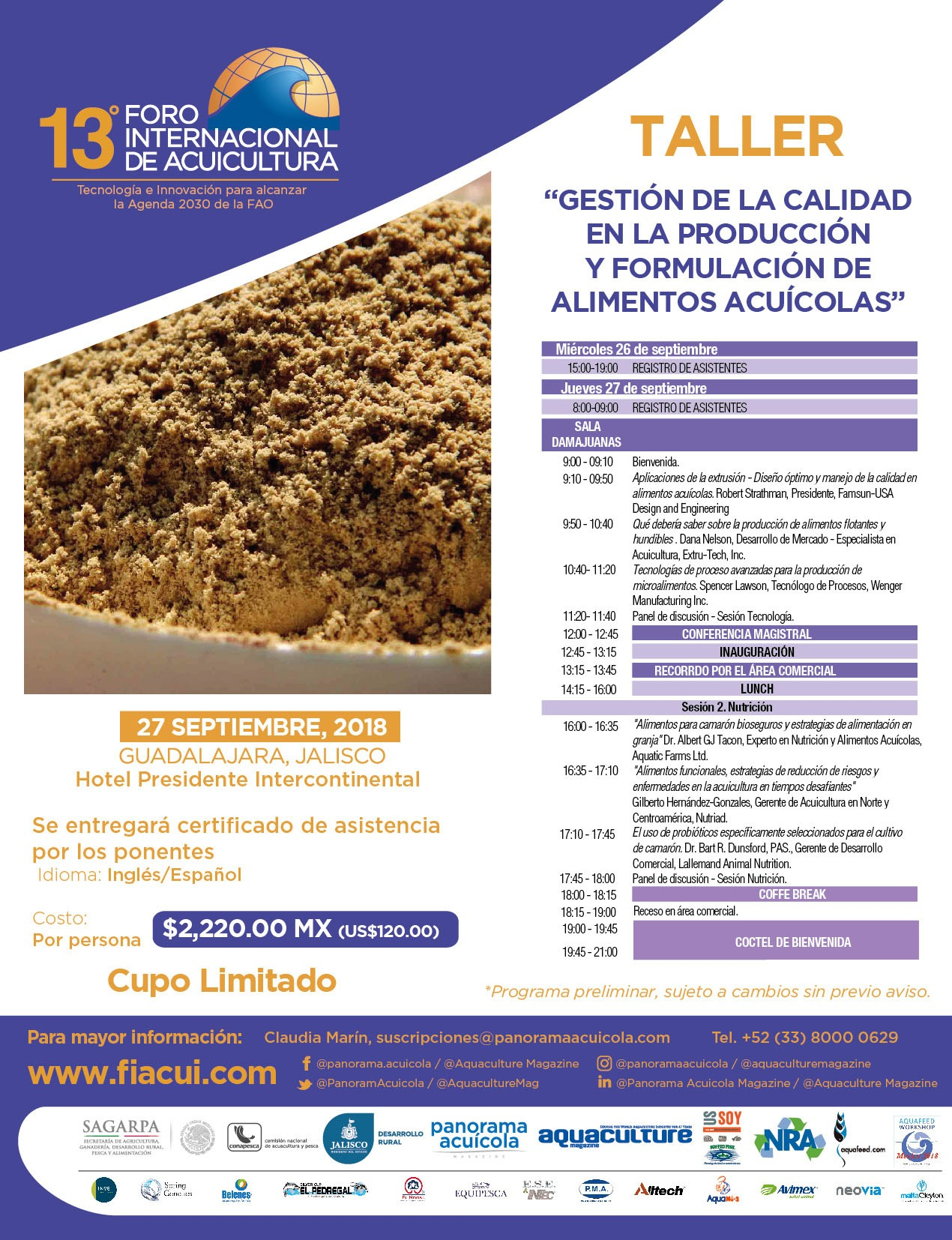 Programa Aquafeed