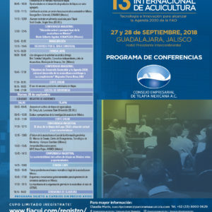 Programa De Conferencias- Consejo Empresarial De Tilapia Mexicana A.C.