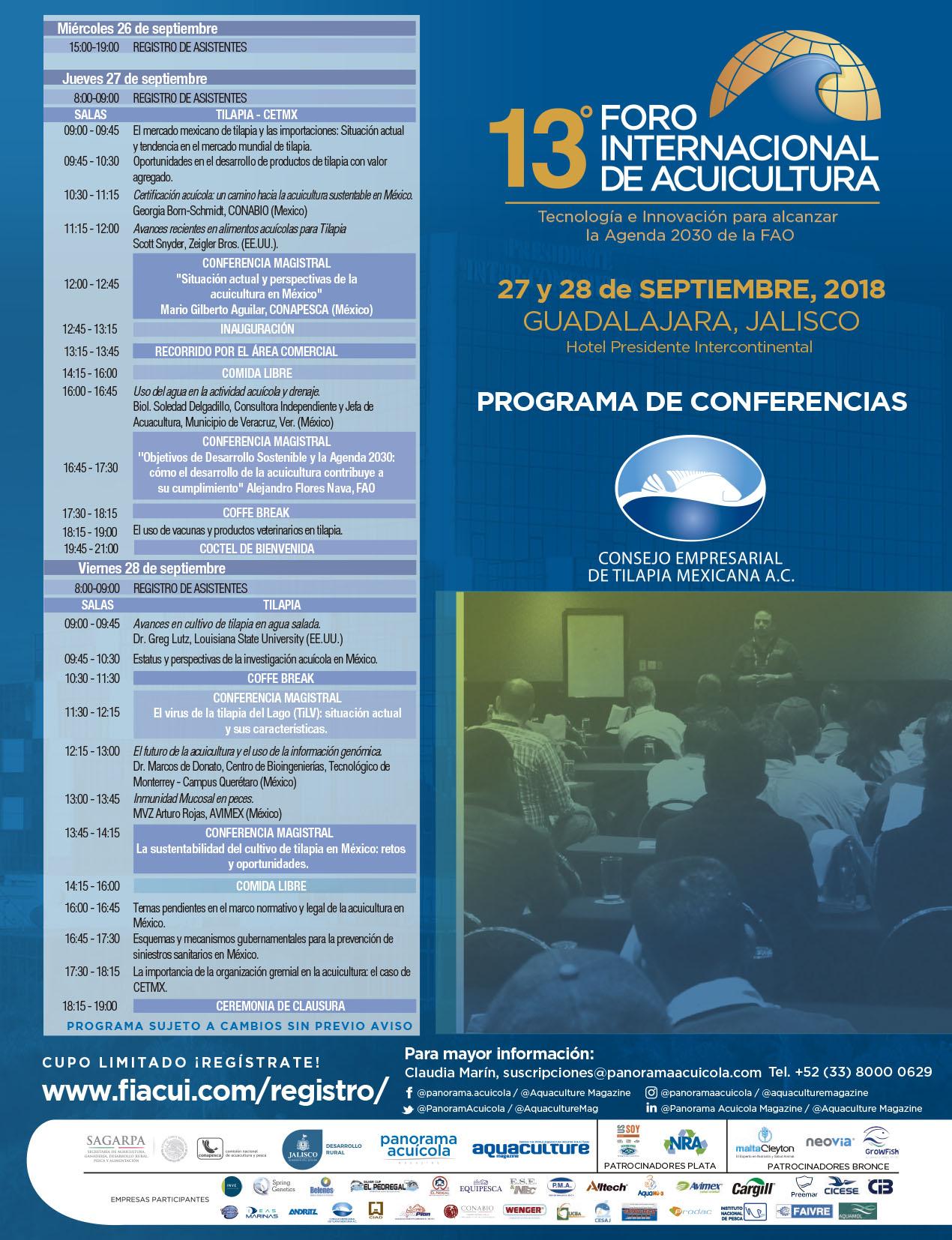 13ºFORO Programa FIACUI