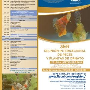 3er Reunión Internacional De Peces Y Plantas De Ornato