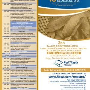 2° Taller De Extensionismo La Reconversión Productiva: El Paso Exitoso De Los Pescadores A Acuicultores