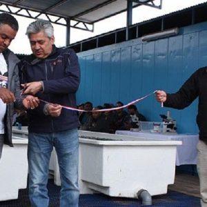 Inauguran Primer Centro De Cultivos Para La Producción De Especies Marinas Con Agua De Mar Procedente De La Minería En Chile