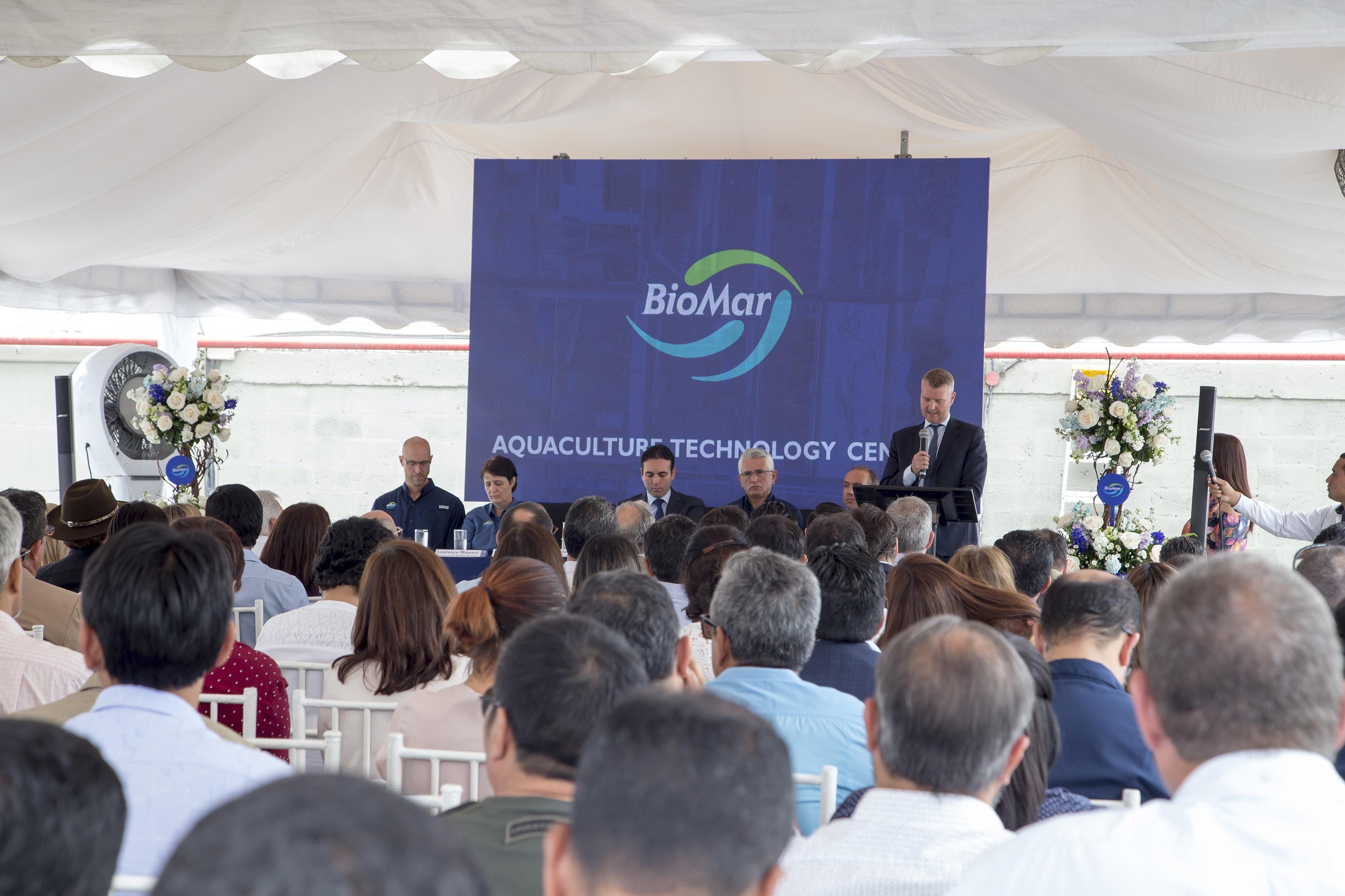 Danish Ambassador To Ecuador During His Speech At The Opening Ceremony Of ATC Ecuador