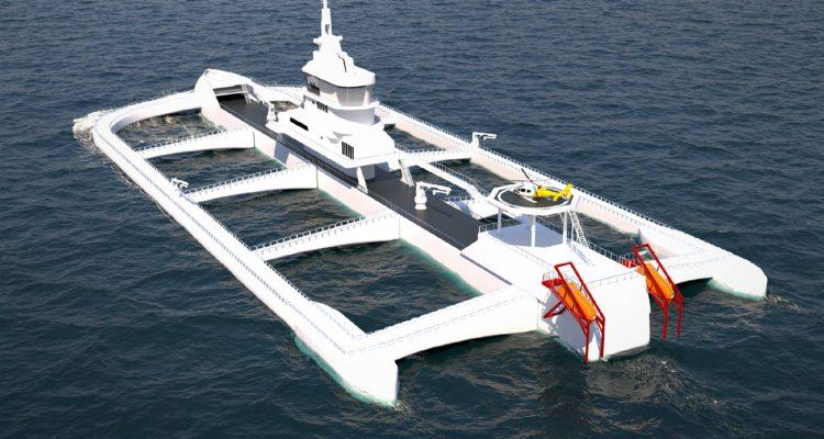 Chilenos Patentan Futurista Granja Para Cultivar Salmones En Alta Mar